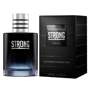 Perfume Masculino Strong New Brand Eau De Toilete 100ml