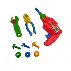 Kit Ferramentas de Brinquedo Infantil Meus Reparos Ta Te Ti