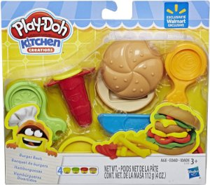 Conjunto de Massinha Play Doh Hambúrgueres Divertidos Hasbro