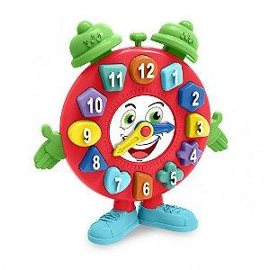 Brinquedo Educativo Tá Na Hora Relógio Didático Tateti 859