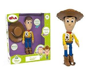 Boneco Toy Story Meu Amigo Woody Com Som Elka 1134
