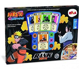 Jogo De Tabuleiro Naruto Rank Ninja Lançamento-elka