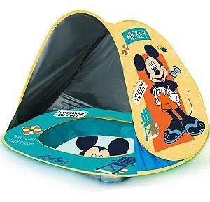 Piscina Com Cobertura Infantil Praia Uv Mickey- Zippy Toys