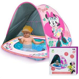 Piscina Tenda Praia Infantil Minnie Disney Bebe Zippy Toys
