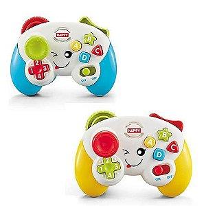 Brinquedo Didático Educativo Controle Videogame C/Luz E Som