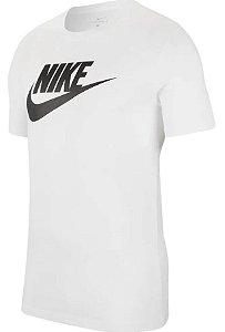 Camiseta Nike Sportswear Icon Futura Masculina Branco