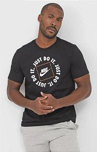 Camiseta Nike Sportwear Just Do It 1 Masculina - Preto