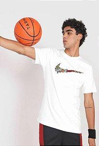 Nike Camiseta Swoosh Masculina Branca