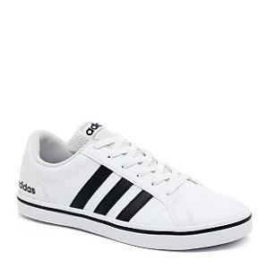 Tênis Adidas Casual Masculino VS Pace Branco e Preto