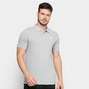 Camisa Polo Nike Sportswear Masculina Cinza