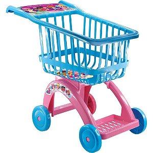 Brinquedo Carrinho de Mercado Compras Faz de conta Lider