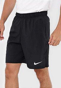 Bermuda Nike Flex Woven 3.0 Masculino Preto e Cinza