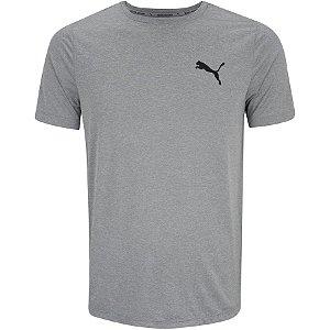 Camiseta Blusa Puma Manga Curta Active Small Logo  Masculina