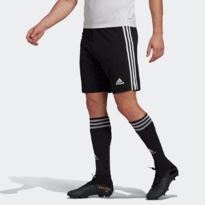Calção adidas Squadra 21 Masculino - Preto E Branco