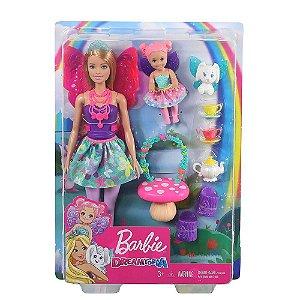 Barbie Dreamtopia Dia De Pets Festa Do Chá - Mattel GJK50