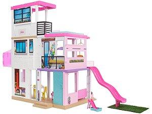 Mega Casa dos Sonhos da Barbie 109cm com Acessórios Mattel