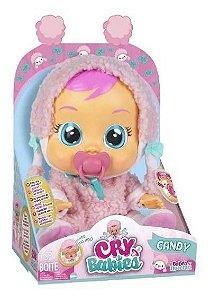 Boneca Crybabies Candy Chora De Verdade Multikids