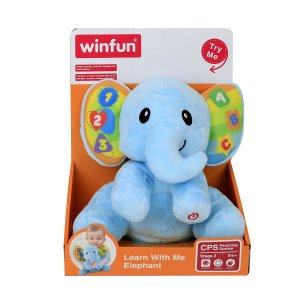 Pelúcia Elefante Atividades Infantil Yes Toys Dance Comigo