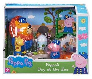 Playset Temático Peppa Pig Unicórnio Mágico/ Zoológico Sunny