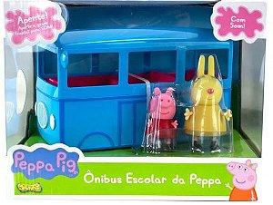 Ônibus Escolar da Peppa Pig com Som - Sunny 2305