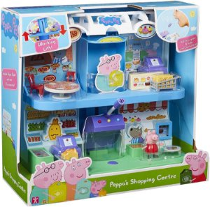 Peppa Pig Playset Supermercado com Microfone da Sunny 2323