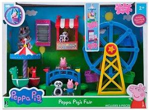 Parque De Diversões da Peppa Pig Playset Sunny 2326
