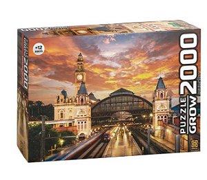 Quebra-Cabeça 2000 Peças Estação da Luz Grow Puzzle 03737