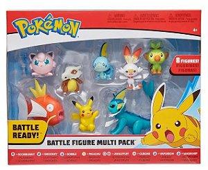 Pokemon Multipack com 8 mini Figuras SUNNY 2604