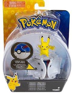 Boneco Pokemon mais Pokebola Pops Sunny 1962
