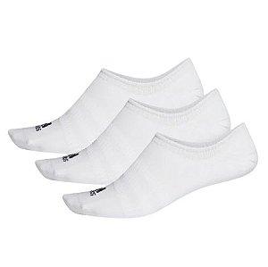 Meias Cano Baixo Invisíveis 3 Pares Adidas