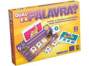 Jogo Qual é a Palavra Educativo Infantil Grow 03952