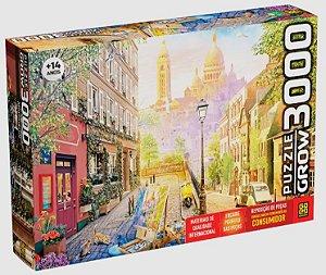Quebra cabeça 3000 Peças Montmartre Puzzle da Grow 04052
