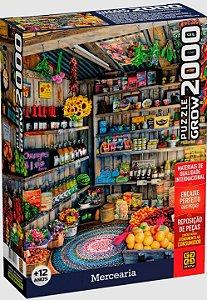 Quebra cabeça 2000 Peças Mercearia Puzzle da Grow 04042