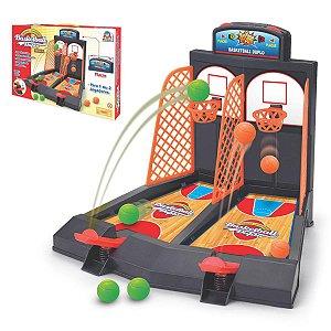 Jogo Basquete Brinquedo Basketball Duplo Braskit 0702