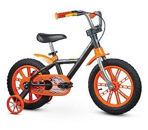 Bicicleta Infantil Rodinhas Aro14 Masculino First Pro Nathor
