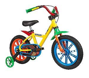 Bicicleta Infantil Rodinhas Aro14 Caloi Zigbim Nathor