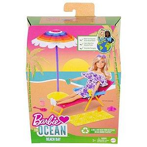 Barbie Malibu The Ocean Dia Na Praia Cenário Playset Mattel
