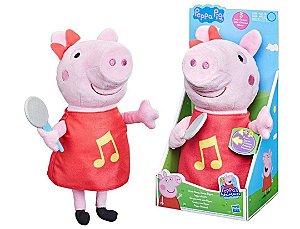 Pelúcia Peppa Musical Hasbro F2187