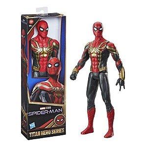 Boneco Homem Aranha de Ferro Marvel 30cm Articulado Hasbro