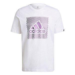 Camiseta Estampada Colorshift Box Logo Adidas