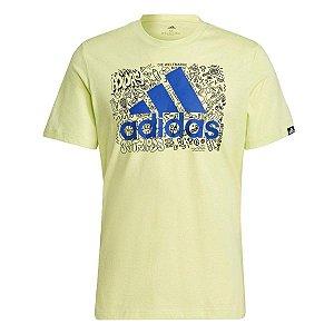 Camiseta Masculina Estampada Doodle Logo Adidas