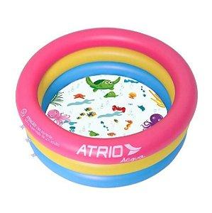 Piscina Inflável Infantil Circular Atrio ES302 Fundo do Mar