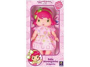 Boneca Baby Moranguinho Amiguinha 30cm da Mimo 4008