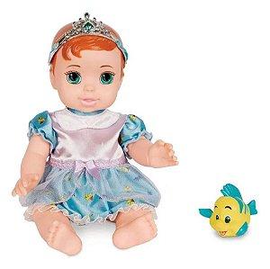 Boneca Baby Ariel 30cm com Pet - Mimo 6423