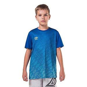 Camisa Umbro Junior Twr Gradient Diamond Azul
