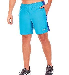Bermuda Masculina Adidas Mix Shrt2 Shock Cyan DV2545