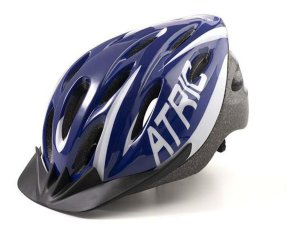 Capacete Bike Ciclista c/Led Atrio Azul Bi-167 Tam G