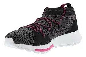 Tênis Adidas Explorer Quesa Preto com Rosa  Feminino
