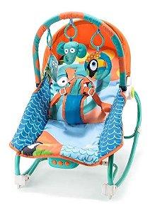 Cadeira De Balanço Para Bebês Elefante Multikids