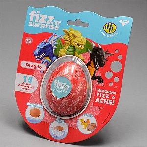 Boneco Surpresa - Fizz Surprise - Ovo De Dragões - Dtc